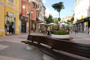 Burgas- The Centre and The Sea garden